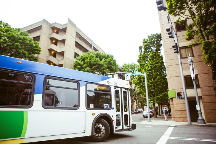 Tri-County Metropolitan Transportation City Bus