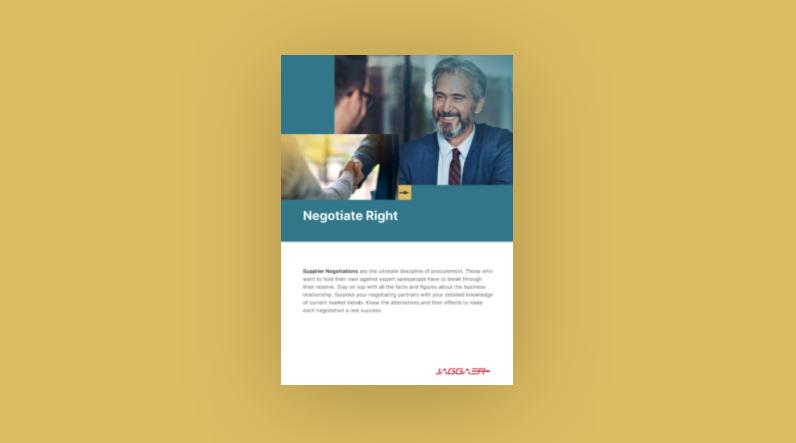 Negotiate Right checklist
