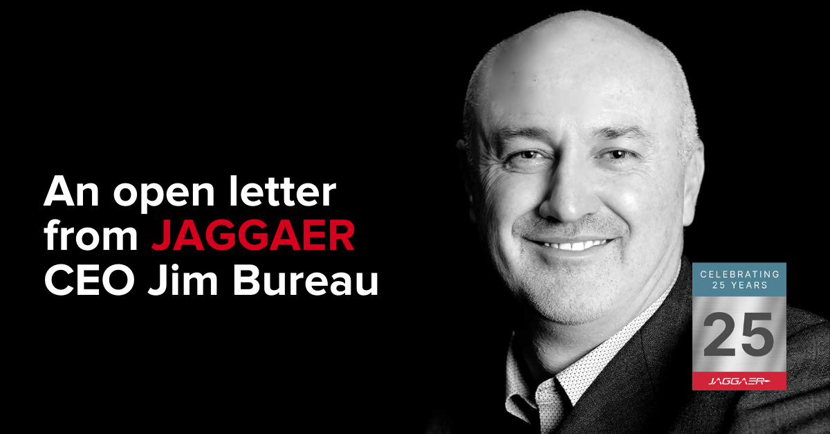 Jim's Open Letter for Jaggaer's 25th Anniversary