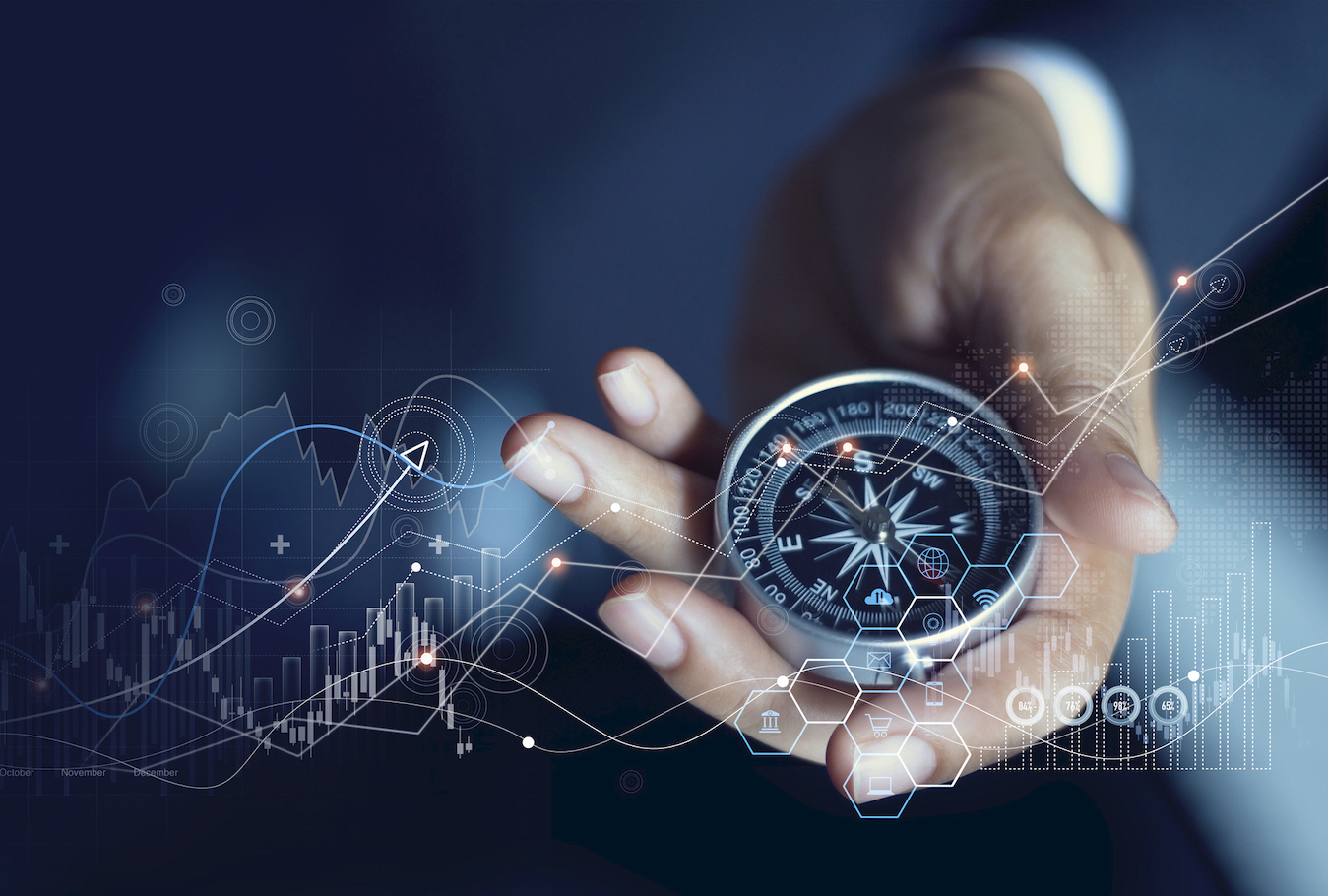 business people socializing at an event