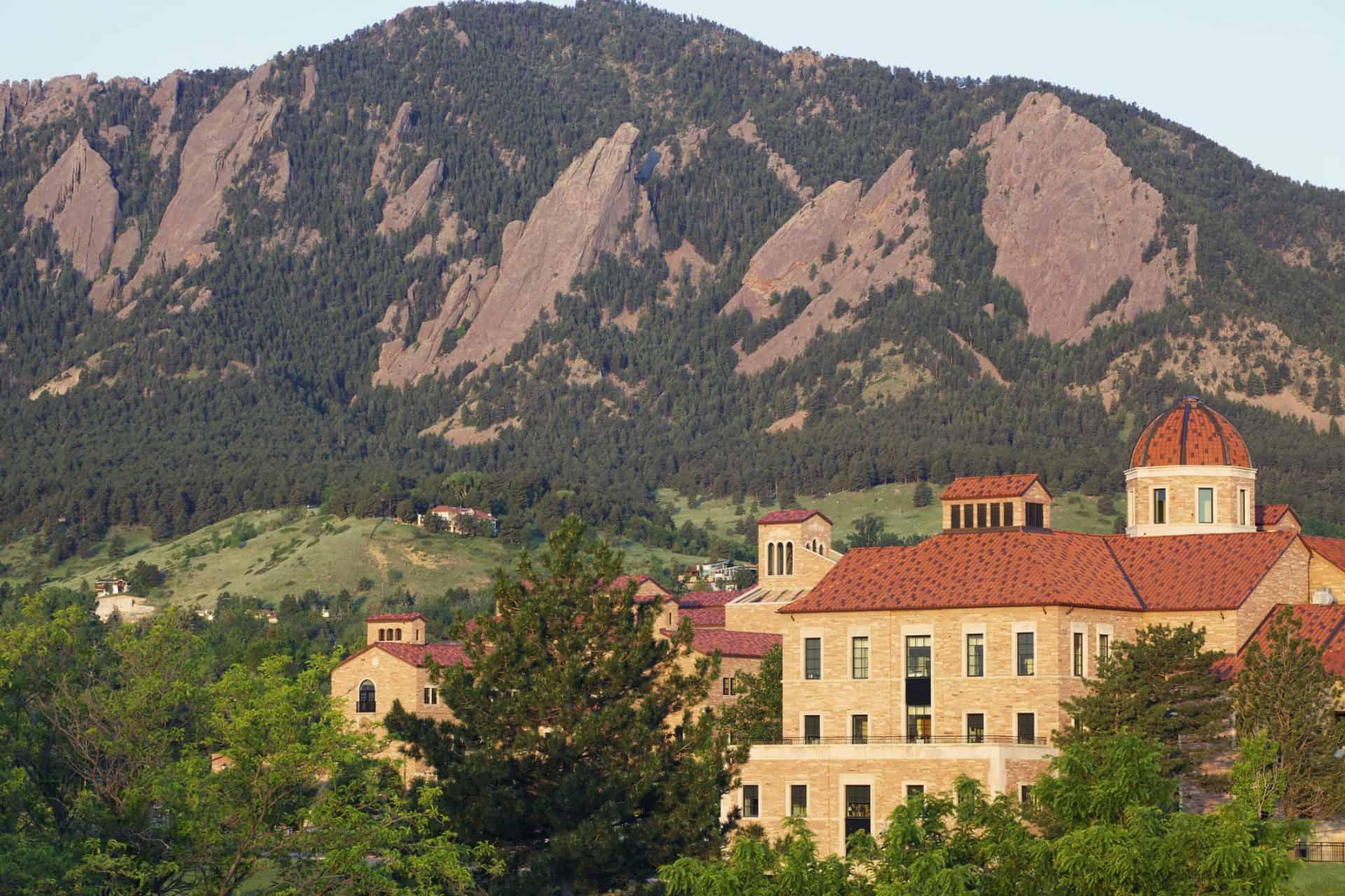 University of Colorado campus in Boulder Colorado