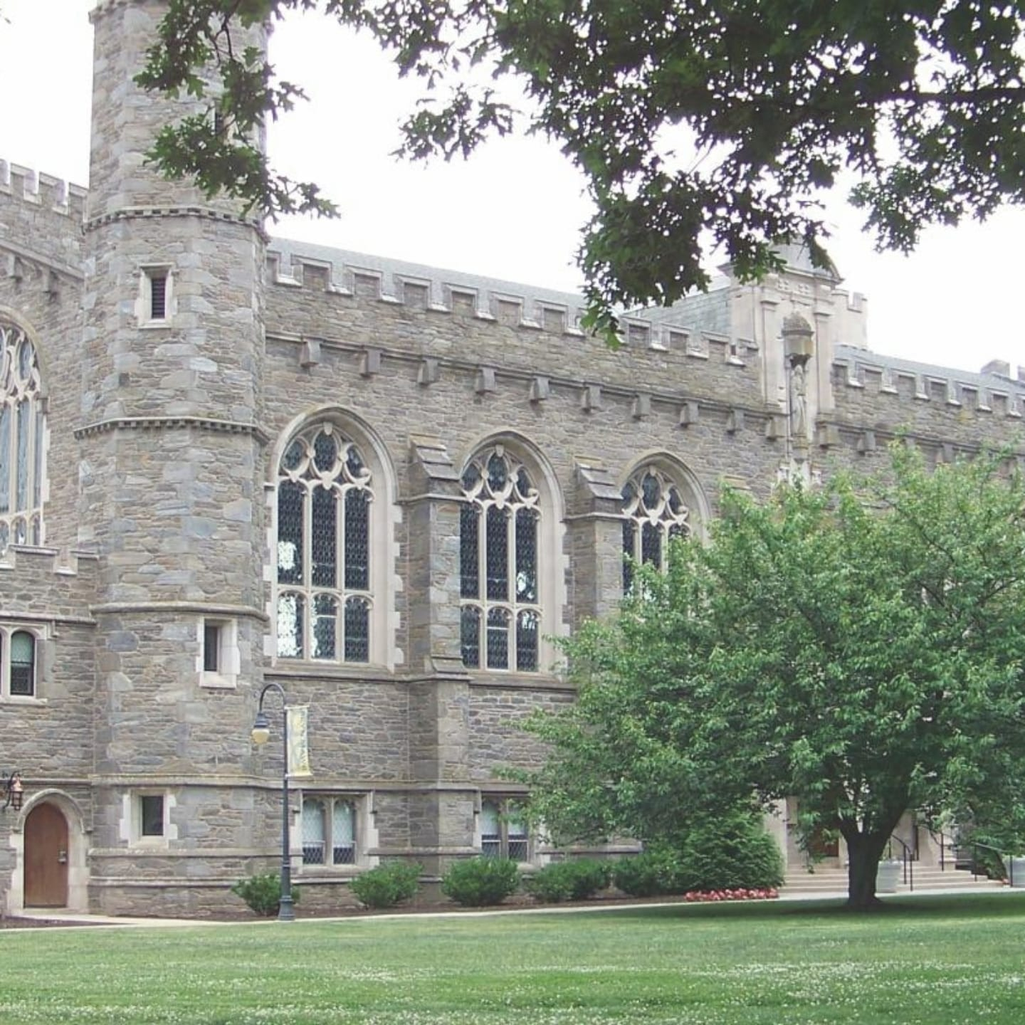 Stone building on the campus of Bryn Mawr College