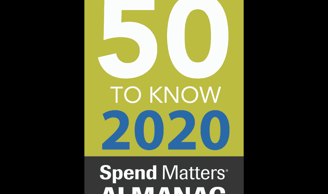 Spend Matters 50 to Know 2020