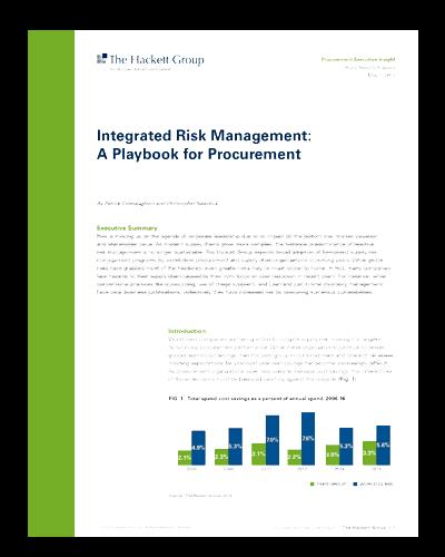 Hackett's Integrated Risk Management Report