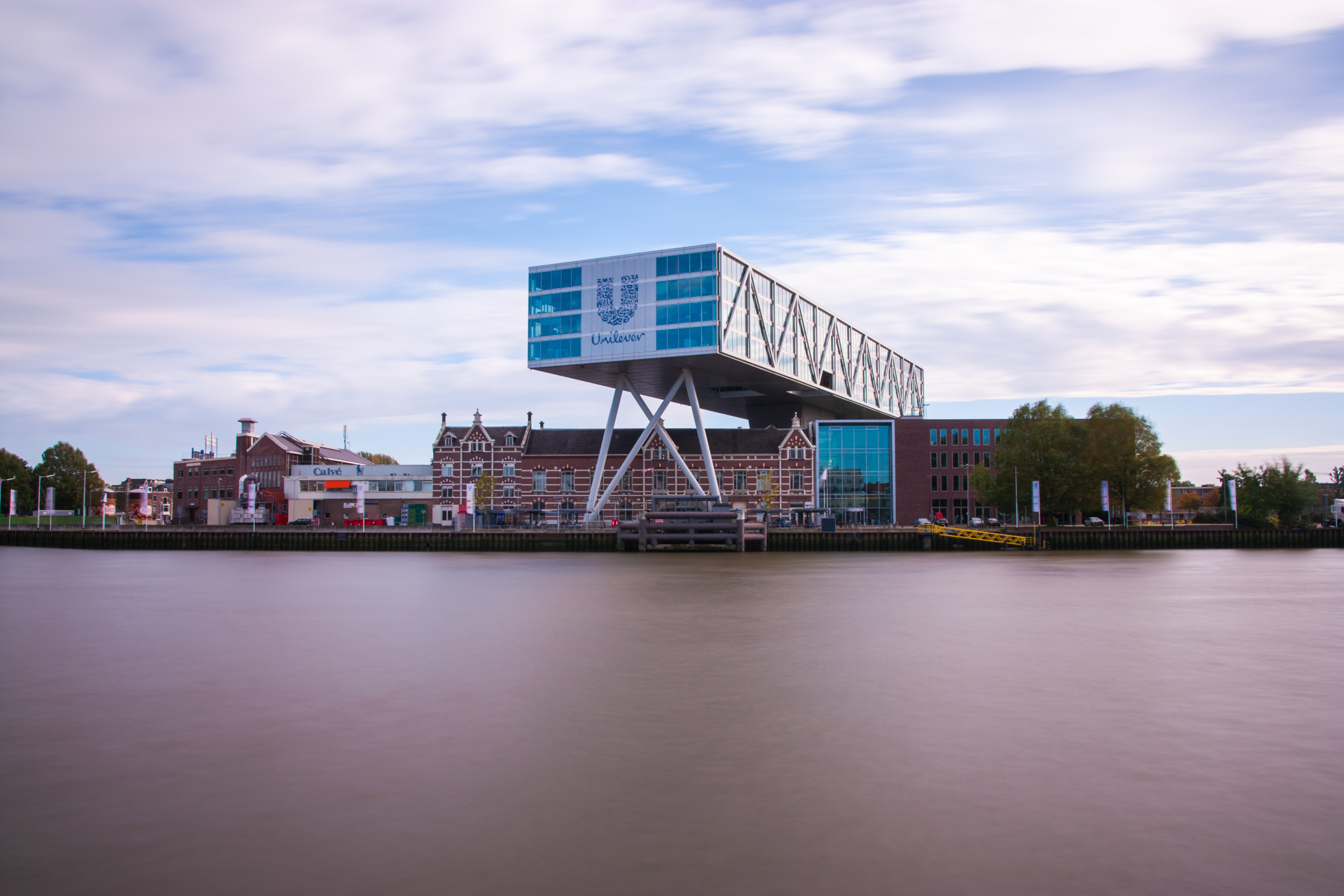 Unilever office building in Rotterdam, Netherlands