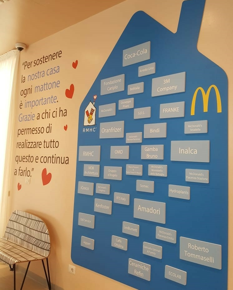 Prima family room milanese Ospedale Niguarda