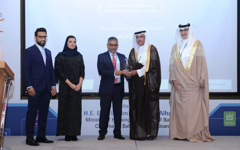 JAGGAER ONE Platform Wins Most Innovative Technology Award in Bahrain