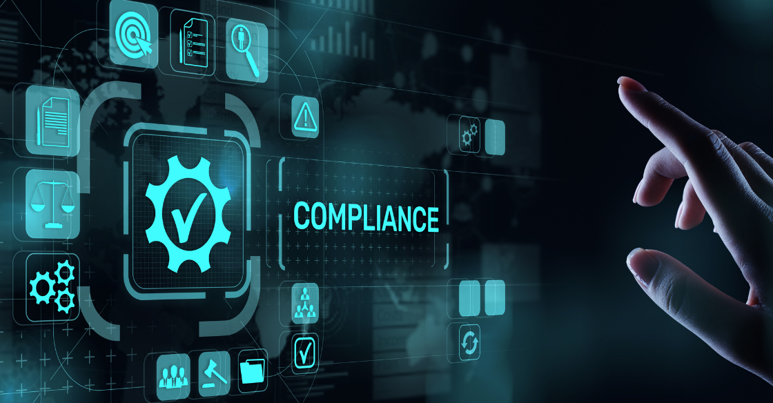 Graphic depicting compliance